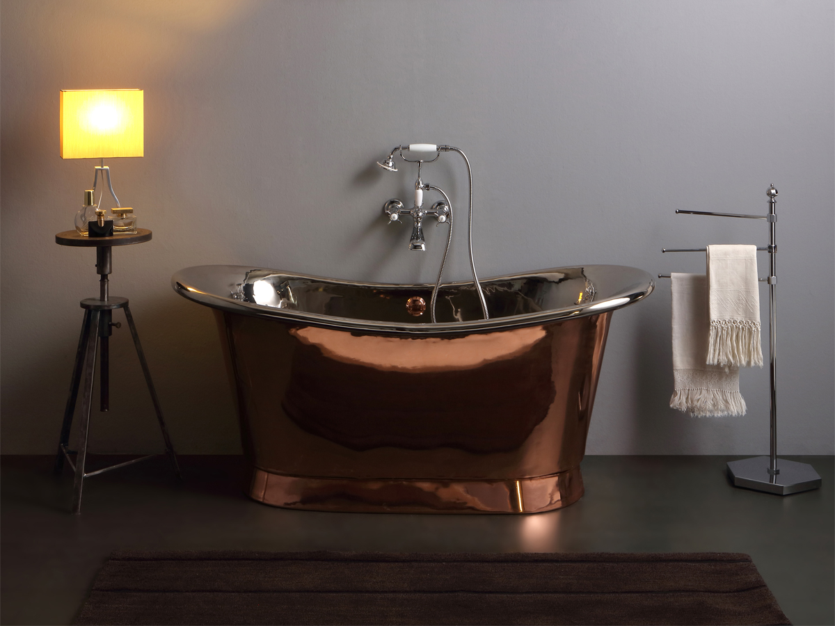 homepage our collections bathtubs copper bathtubs. Black Bedroom Furniture Sets. Home Design Ideas