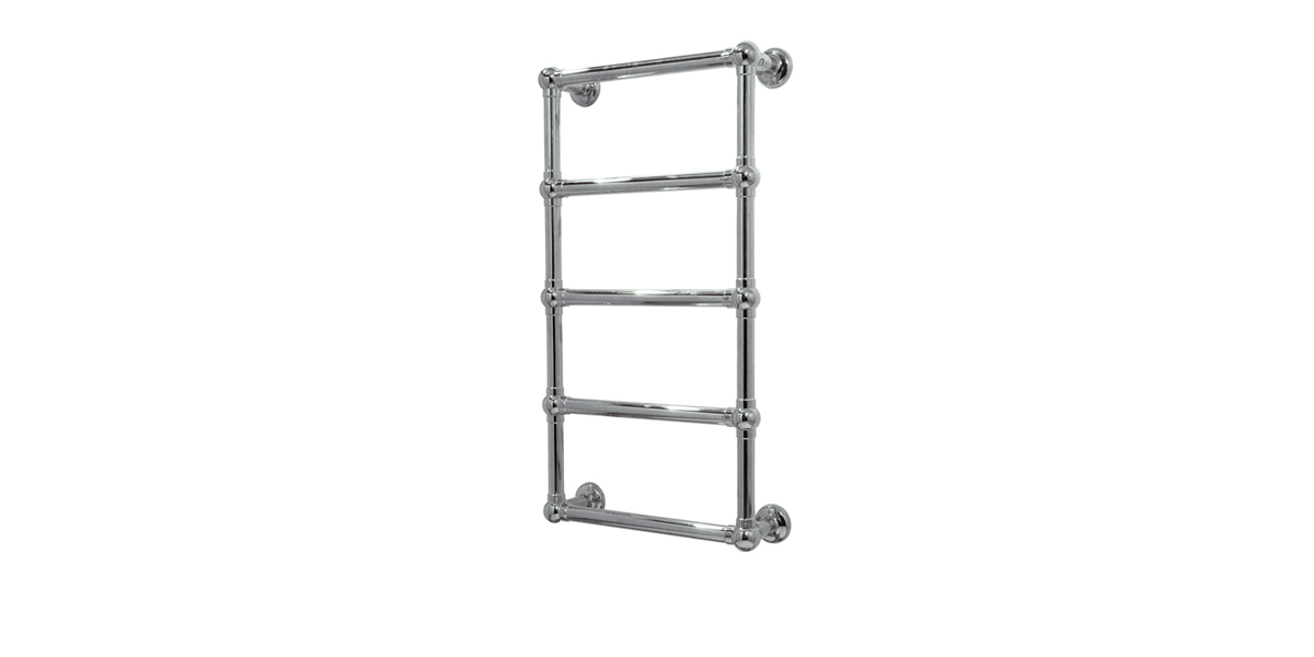 Wall mounted 5 rails