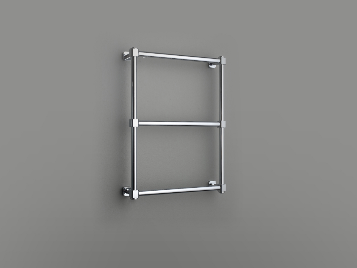 Wall mounted 3 rails industrial