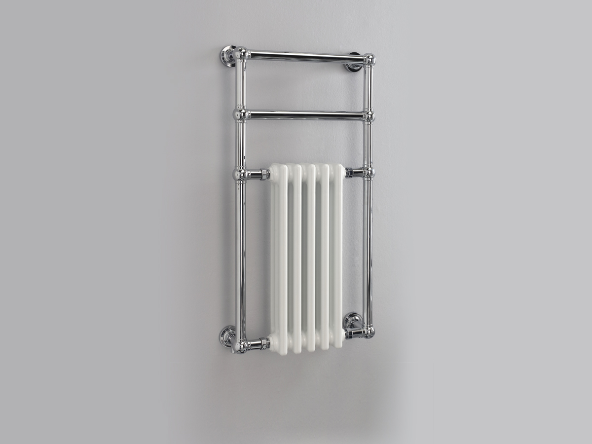 Wall mounted with cast iron insert