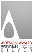 A'Design Award Winner 2016 Silver